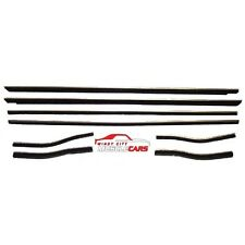 1964-66 Mustang Coupe / Convertible Weatherstrip Front & Rear 8 Piece Kit