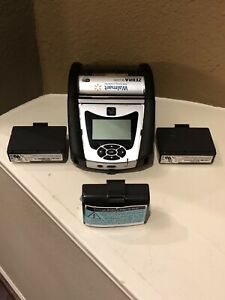 Zebra QLn320 Printer with 3 Batteries New