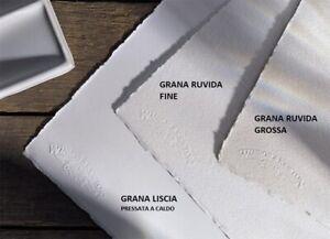 Carta per Acquerello WINSOR&NEWTON 100% Cotone cm 56x76 - conf. 3 fogli a scelta