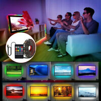 LED Strip Lights Sync To Music USB 5V 5050 Flexible RGB LED Strip Lights Music ☆