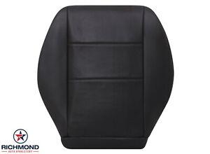 2008-2015 Mercedes Benz GLK 250 350 -Driver Side Bottom Leather Seat Cover Black