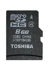 Genuine Toshiba C08gb Micro SDHC Memory Card Class 4