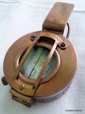 BRASS NAUTICAL BRITISH MILITARY WW2 MARK III PRISMATIC POCKET SOLID COMPASS GIFT