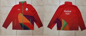 2016 Olympic Games Summer Rio de Janeiro Jacket Red Size M