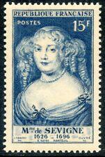 STAMP / TIMBRE FRANCE   N° 874 * MADAME DE SEVIGNE