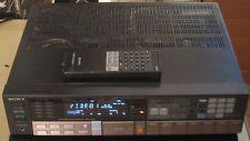 Vintage 1980s SONY STR-AV560 A/V Stereo Receiver Amp w/ Remote 60 Watts X 2