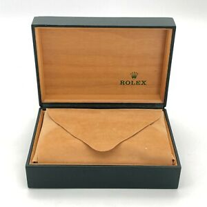 Rolex Genuine watch box case 68.00.01 Without Outer box Color Green B0831038
