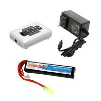 Tenergy 11.1V 1000mAh LiPO 20C Airsoft Stick Battery Pack with Charger Option