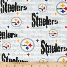 """NFL PITTSBURGH STEELERS  FOOTBALL SKINNY CURTAIN  APPROXIMATELY 28"""" W X 63"""" L"""