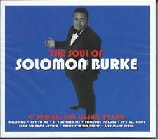 Solomon Burke - The Soul Of [Best Of / Greatest Hits] 2CD NEW/SEALED