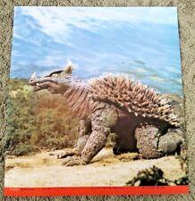 "ANGUILLAS aka Anguirus Godzilla Monster Poster print 14.25""x15.5"" Japan Market"