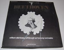 BEETHOVEN Nine Symphonies Steinberg / Pittsburgh Orchestra 7 Records - SQN 145/7