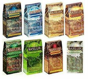 Basilur Ceylon Loose Leaf Tea Oriental Collection 10 Varieties 100 g net