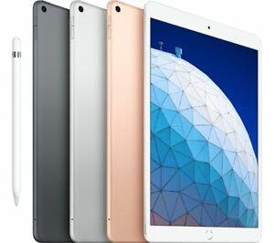 "Apple iPad Air 10.5"" Tablet 256GB Wi-Fi + Cellular 2019 - 3rd Generation"