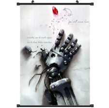 Anime Fullmetal Alchemist Brotherhood wall Poster Scroll cosplay 3224