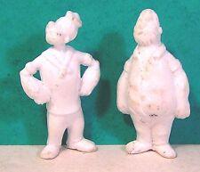 """lot figurines publicitaires monochromes MIR """" popeye """"année 1970"""