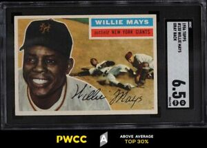 1956 Topps Willie Mays #130 SGC 6.5 EXMT+ (PWCC-A)