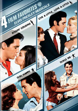 4 Film Favorites: Elvis Presley Musicals (DVD,2008)