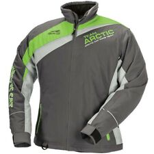 Arctic Cat Women's Racing Insulated Snowmobile Jacket - Green Gray Lime Black