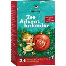 Tee Adventskalender bio Sonnentor Aufgußbeutel (11,97 EUR / 100g)