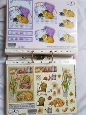 cat skies 4 Single paper decoupage napkins letters-844 Dog newspaper