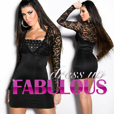NEW SEXY MINI DRESS FORMAL EVENING COCKTAIL CLUBBING Size 2 4 6 8 10 XS S M