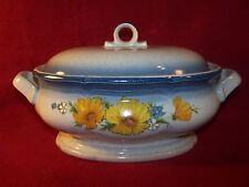 """Mikasa ~ Country Club ~ Amy ~ 2.5 Quart Oval Covered Casserole 10 1/4"""" X 4 3/8"""""""
