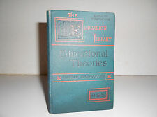 1892 An Introduction to the History of Educational Theories by Oscar Browning