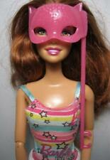 Barbie Doll clothes:My Scene Halloween Costume Masquerade Dress up Pink Cat Mask