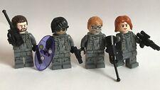 Lego Original Star Wars - 4 Minifiguras soldados de resistencia-cuerpo desde 75184 u2