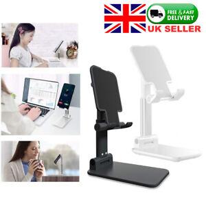 Adjustable Desk Phone Stand Holder Home Office  For All Smart Phone Tablet