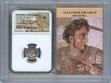 336-323 BC Alexander III Great Drachm NGC VF Kingdom Macedon Story Vault