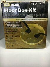 Concealed Floor Receptacle