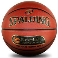 TF-1000 Legacy Official Basketball Victoria Size 7 Indoor Ball From Spalding