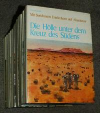 17x Enzyklopädie,Mit berühmten Entdeckern auf Abenteuer,Chr.Columbus Verlag 1971