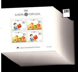 /// 100X PORTUGAL - MNH - EUROPA CEPT 1989 - CHILDREN - GAMES - WHOLESALE