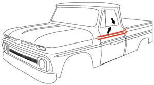 60-63 Chevy/GMC Door Beltline Molding Channel Window Seal Kit