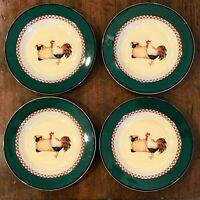 Set/ 4 Vtg. International Tableworks 18 Henry & Co Country/Farm Soup/Pasta Bowls