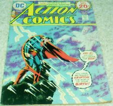 Action Comics 440, FN+ (6.5), 1974 1st Grell Green Arrow! 50% off Guide!
