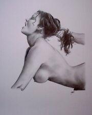 Impresión De Arte Erótico presentación Nude (A2) por Aaron De La Haye