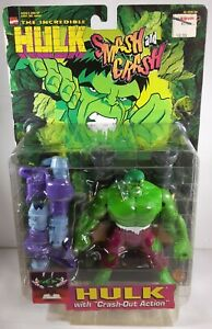 The Incredible Hulk With Crash Out Action Figure 1997 Toybiz 43441