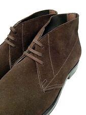 *New* Ralph Lauren Suede Boots  - Hand Made by Crockett & Jones (UK 6.5 Width B)