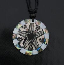 Collier ethnique avec pendentif nacre - Bijoux fantaisie pas cher - BB585