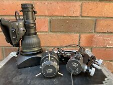 Canon HJ22x7.6B IASE S with Remotes and Case - Excellent Condition