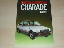 57750) Daihatsu Charade Diesel Prospekt 198?