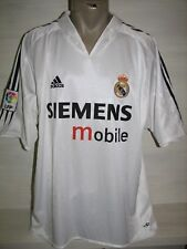 REAL MADRID 2004-05 HOME SHIRTJERSEY ADIDAS SIZE XL