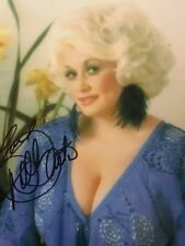 Classic Dolly Parton Autograph SIGNED  PHOTO GA COA Stunning Blue