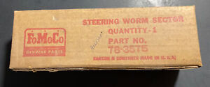 1937-1948 Ford NOS STEERING BOX WORM SECTOR SHAFT 78-3575