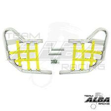 Banshee YFZ 350 YFZ350  Nerf Bars  Alba Racing  Silver bar Yellow nets 207 T1 SY