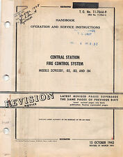 1951 B-29 Central Fire control System Maintenance Inst's Flight Manual -CD-